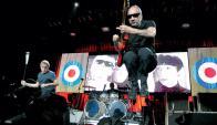 Pete Townsend, lidera desde hace 51 años The Who, los primeros rebeldes del rock.