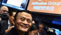 Jack Ma. El presidente se codea con líderes globales de tecnología y política. Foto: AFP.