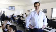 Pablo Bartol, director del Centro Educativo Los Pinos. Foto: D. Borrelli