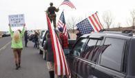 Ocupantes en Oregon. Foto: AFP