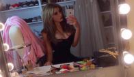 Charlotte Caniggia de espaldas (Foto: @chcaniggia)