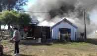 El incendio del pasado 16 de junio en Fraile Muerto. Foto: Néstor Araújo.
