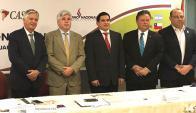 Jerarcas unidos apoyan potencial productivo del Cono Sur. Foto: Consejo Cas