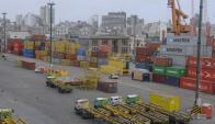Exportaciones: ventas acumulan un descenso de doce meses. Foto: A. Colmegna.