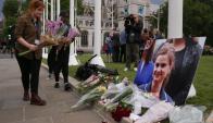 Luto: muchos ciudadanos británicos rindieron homenaje a la legisladora. Foto: AFP