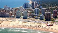 Sol y playa. El contacto con la naturaleza es uno de los diferenciales que atrae a los empresarios a radicarse en Punta. (Ricardo Figueredo)