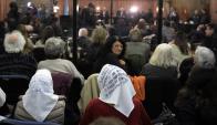 Madres de la Plaza de Mayo en la audiencia, Foto: AFP