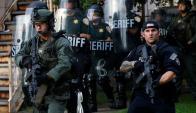 Ataque a Policía en Estados Unidos.