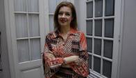 Claudia Rossi interpreta a un personaje desprotegido. Foto: archivo El País