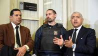 Pérez Corradi pagó US$ 50.000 para borrarse las huellas dactilares. Foto: AFP