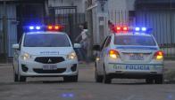 La Policía de Canelones trabaja para detener al delincuente. Foto: A. Colmegna