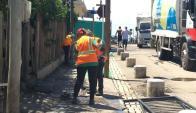 El operativo de limpieza demandó la participación de unas 350 personas. Foto: M. Malek