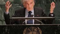 Elie Wiesel. Foto: AFP