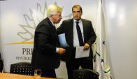 El ministro Astori y el subsecretario Ferreri enfocan el próximo año. Foto: M. Bonjour