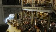 Un paraíso de libros en un edificio espectacular (Foto: Francisco Flores)