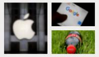 Apple, Alphabet y Coca Cola lideran el listado. Fotos: Reuters y Pixabay