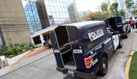La policía panameña allanó las oficinas de Mossack Fonseca. Foto: EFE.