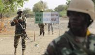 Conflicto: Soldados nigerianos superados por los yihadistas. Foto: Reuters