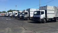 A los camiones rotos o fuera de servicio se suman los lavacontenedores. Foto: El País