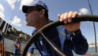 Veterano. Torben Grael durante la competencia de la Volvo Ocean Race en 2009; hoy está retirado y entrena a sus hijos. Foto: AFP