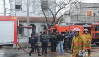 Incendio en asilo en ancianos dejó siete fallecidos. Foto: F. Flores