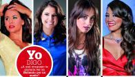 Flavia Pintos, Sofía Rodríguez, Soledad Ramírez y Eunice Castro.