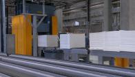 Producción de papel crece.
