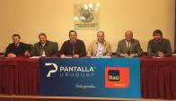 En el Prado por TV y web, con Estudio 3000 y el Banco Itaú. Foto: Pablo D. Mestre
