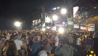 El evento musical se realizó en la zona de El Jagüel. Foto: Summer Festival