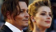 Johnny Depp y Amber Heard. Foto: Reuters.