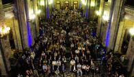 El homenaje a Ferreira se realizó en el Parlamento. Foto: Marcelo Bonjour