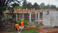 Construcción: fue el sector con más beneficiarios del subsidio. Foto: F. Ponzetto