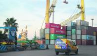 Montecon: la operadora portuaria reclama poder instalar grúas pórtico. Foto: G. Pérez