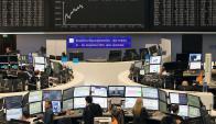 Bolsa de Frankfurt. Foto: AFP
