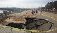 Miles de dólares demandarán obras en costa de Piriápolis. Foto: M. Gallardo