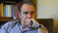 Analítico. A sus 55 años, Martín Lasarte se da su tiempo para explicar con argumentos cada una de sus opiniones. Foto: Archivo El País