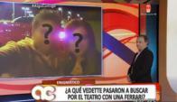 Fabiana Leis y su novio (Foto: captura tv)