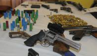 El armamento estaba a punto de ser traficado. Foto: Archivo El País