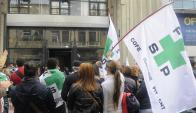 La denuncia llegó al directorio de la FFSP en pleno conflicto por Presupuesto. Foto. A. Colmegna