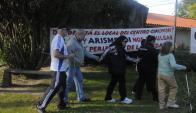 El 21 de abril usuarios tomaron el Cachón. Foto: Ariel Colmegna