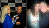 Susana Giménez con Sergio Puglia y Eunice con Roberto Jones