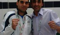 Federico González ganador del Open de México este domingo.