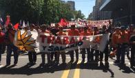 Marcha del Pit-Cnt. Foto: Gabriel Rodríguez.