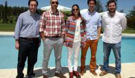 Manuel Martínez, Nicolás Galotti, Carolina Ameglio, Joaquín Rodríguez, Juan Balsa.