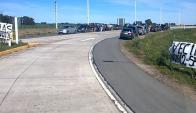 Vecinos de Colonia reclaman que el gobierno repare las rutas 12, 54 y 55. Foto: D.Rojas