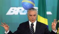Gobierno: si Rousseff es destituida, Temer se quedará hasta el 2019. Foto: Reuters