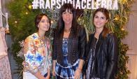 Natalia Abad, María Arechavaleta, Florencia Bas.