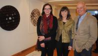 Claudia Anselmi, Rosina Peluffo, Rafael Lorente.