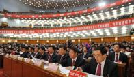 El gobierno chino lucha contra la corrupción. AFP
