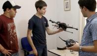 El primer dron diseñado a través de impresión 3D en Latinoamérica. Foto: EFE